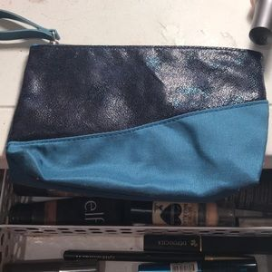 makeup bag, wristlet, clutch